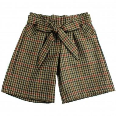 Piccola Ludo Pantalone quadretto largo justinetes028061