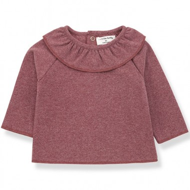 1+ In the Family Blusa jersey rosa per neonata 1+ in the family CLEMENTINA-28