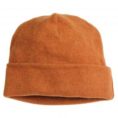 Babe&Tess Cuffia arancione cotone caldo bambina wr29-wr-093