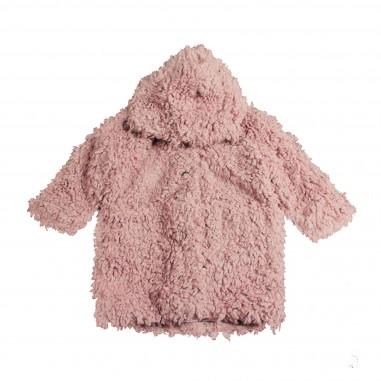 Babe&Tess GIubbotto rosa orsetto per bambina ff04-ff-009