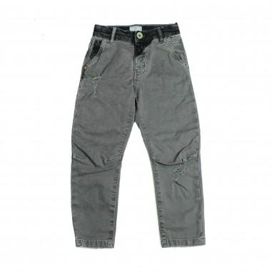 Berna Kids Pantalone grigio cotone per bambini 8045PA-Grigio