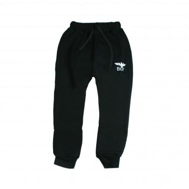 Boy London Pantalone in felpa nero per bambino PFBL183200J