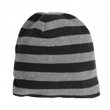 65ef5c3423d Caffè d Orzo Girls sparkly cotton striped hat EMILIA02-28