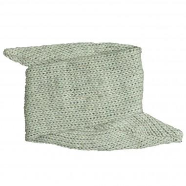 Caffè d'Orzo Fascia capelli grigia tricot per bambina ELVIA-28-Grigio