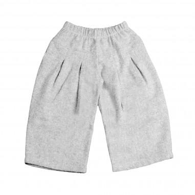 Coccolatini Pantalone grigio in felpa per bambina MARTINA-Cocc28