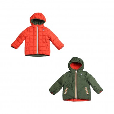 K-Way K-way reversibile arancione & verde per bambini by K-way kids K001K40-A07