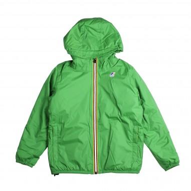 K-Way K-way verde interno orsetto per bambini by K-way kids K005DH0-X1Q