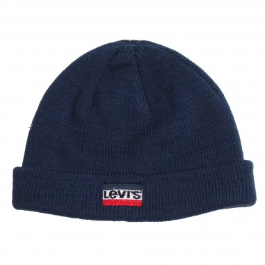 Levi's Blue logo hat for kids by Levi's Kids NM90004-48