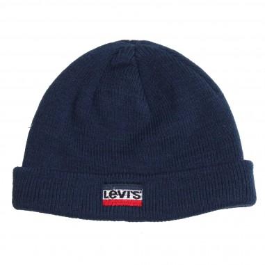 Levi's Cappello blu logo per bambini by Levi's Kids NM90004-48
