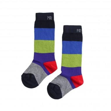Manuel Ritz Calzini multicolore in cotone per bambini 499-RITZ28