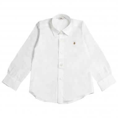Manuel Ritz Camicia bianca oxford per bambino 264-81-BIA-RITZ28