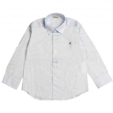 Manuel Ritz Boys Azure oxford shirt 264/81-AZZ-RITZ28