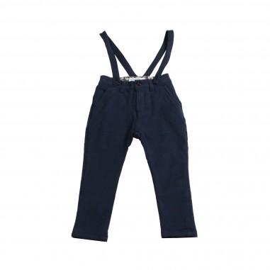 Manuel Ritz Pantalone salopette blu per bambino 471-RITZ28