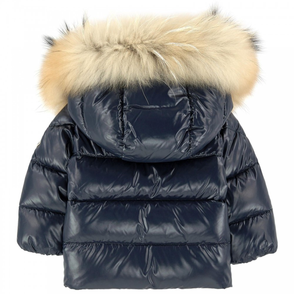 wholesale dealer 31828 93238 k2 giubbotto blu per neonato by Moncler Kids