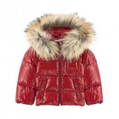 348a6549d1 Moncler k2 giubbotto rosso per neonati by Moncler Kids 1419872568950-438