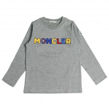 Moncler t-shirt scritta moncler per bambini by Moncler Kids 4802145083092