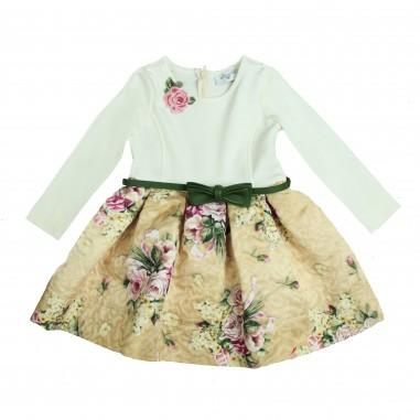 Monnalisa abito stampa fiori per bambina by Monnalisa 112905