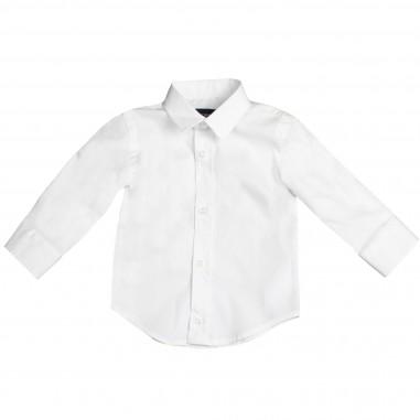 Monnalisa Camicia basica bianca per bambino by Monnalisa 282301-bia