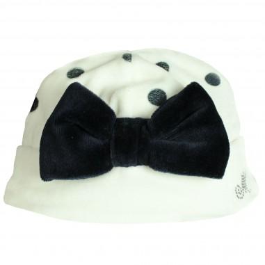 Monnalisa cappello pois con fiocco per neonata by Monnalisa 352012