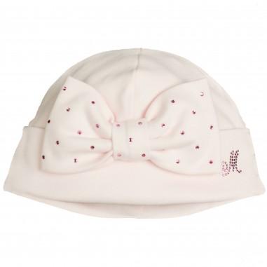 Monnalisa cappello rosa con fiocco per neonata by Monnalisa 372CAPpink