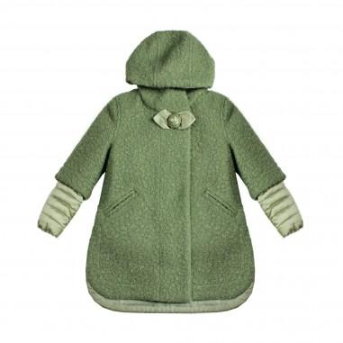 Monnalisa Cappotto & piumino verde per bambina by Monnalisa 172104