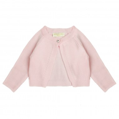 Monnalisa Girls Pink wool cardigan by Monnalisa 732801pink