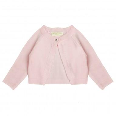 Monnalisa cardigan lana rosso per bambina by Monnalisa 732801pink