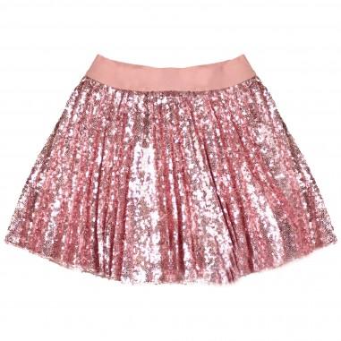 Monnalisa gonna paillettes rosa per bambina by Monnalisa 172701rosa
