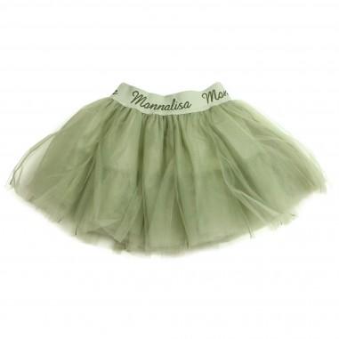 Monnalisa gonna tulle verde per bambina by Monnalisa 172GON