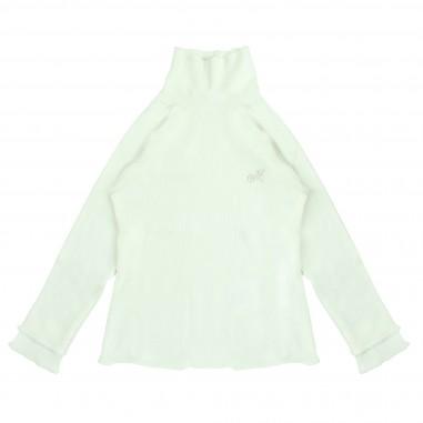 Monnalisa lupetto bianco viscosa per bambina by Monnalisa 172LUCwhite