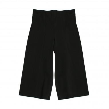 Monnalisa pantalone nero cropped per bambina by Monnalisa 172407