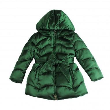 Monnalisa piumino nylon verde per bambina by Monnalisa 172119-0023