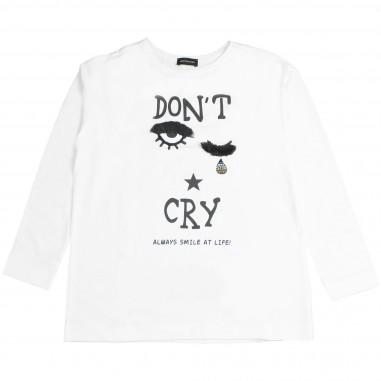 Monnalisa t-shirt dont'cry per bambina by Monnalisa 492621RI