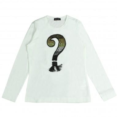 Monnalisa t-shirt stampa & strass per bambina by Monnalisa 492614PC