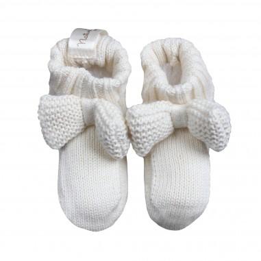 Natura Pura Scarpine in maglia in cotone organico bio per neonati by NaturaPura BB19W-022-28