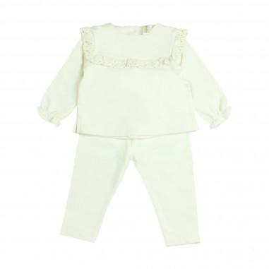 Natura Pura Set leggings & tunica in cotone organico bio per neonati by NaturaPura BB19W-037-28