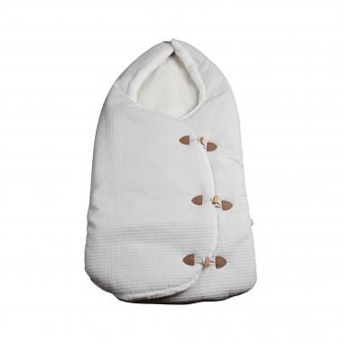 Paz Rodriguez Sacco baby beige per neonati by Paz Rodriguez 075-08826-glosa