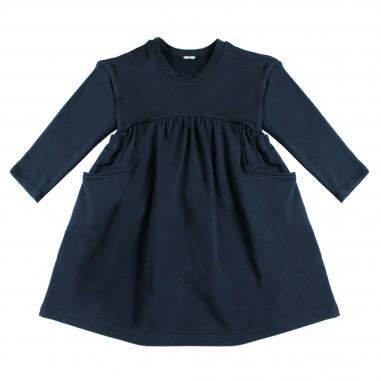 Piccola Ludo Abito felpa blu per bambina by Piccola Ludo roxietes02513993