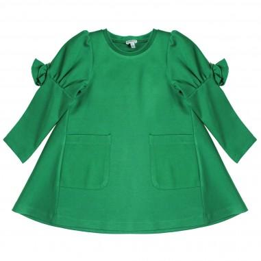 Piccola Ludo Abito verde punto Milano per bambina by Piccola Ludo norarosates0260003