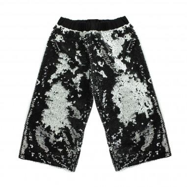 Piccola Ludo Pantalone largo pailettes per bambina by Piccola Ludo tessites02580199
