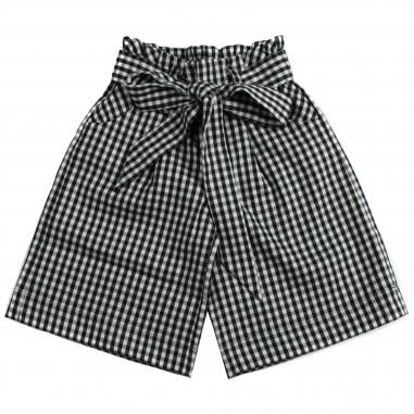 Piccola Ludo Pantalone largo quadretto  per bambina by Piccola Ludo justinetes02620145