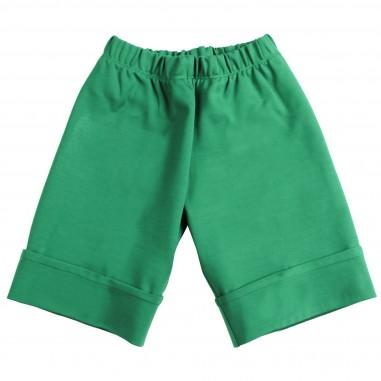 Piccola Ludo Pantalone punto milano verde per bambina by Piccola Ludo arlenetes0260003