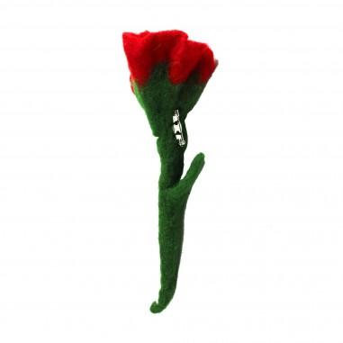 Piccola Ludo Spilla tulipano pannolenci per bambina by Piccola Ludo aliaspillac000001010