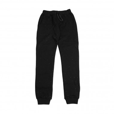 Richmond Pantalone nero in felpa per bambini by Richmond Junior RGA18103PA