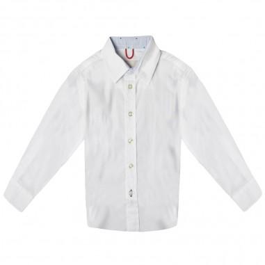 Myths Camicia bianca bambino 18K31C106