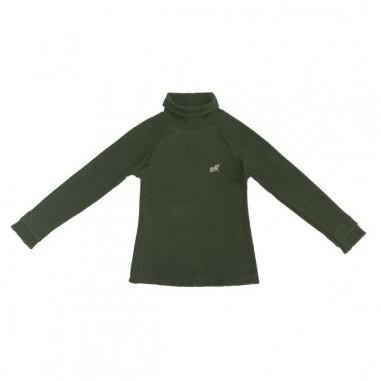 Monnalisa T-shirt lupetto verde per bambina by Monnalisa 172lucgreen