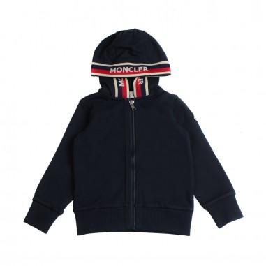 Moncler Felpa aperta cappuccio bambino - Moncler Kids 8415605809ag778mo19