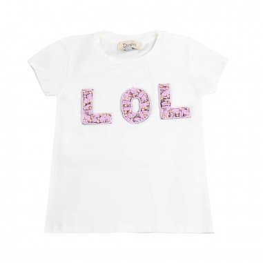 Dixie Kids Girls white cotton t-shirt by Dixie mbd7032g16dixie19