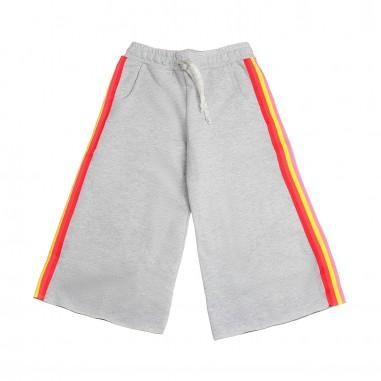 Dixie Kids Girl wide-fit grey cotton trousers by Dixie fj15042g16dixie19