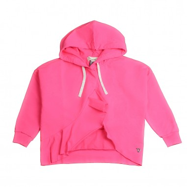Dixie Kids Girl pink hooded sweatshirt by Dixie lk32042g16dixie19